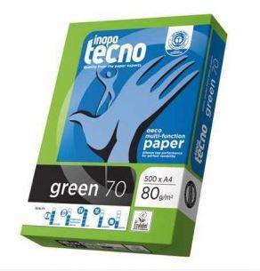 Papel Tecno Green A4 reciclado 80gr 500h