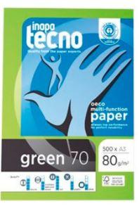 Papel Tecno Green A3 reciclado 80gr 500h