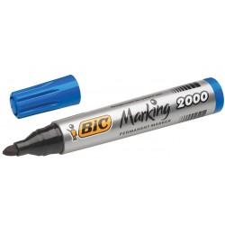 Rotulador Bic permanente marking 2000 azul
