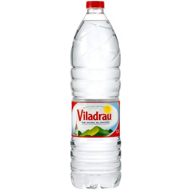 Botella 1.5 l. agua Viladrau