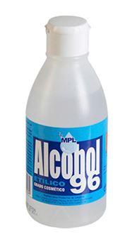 Botella alcohol  250ml