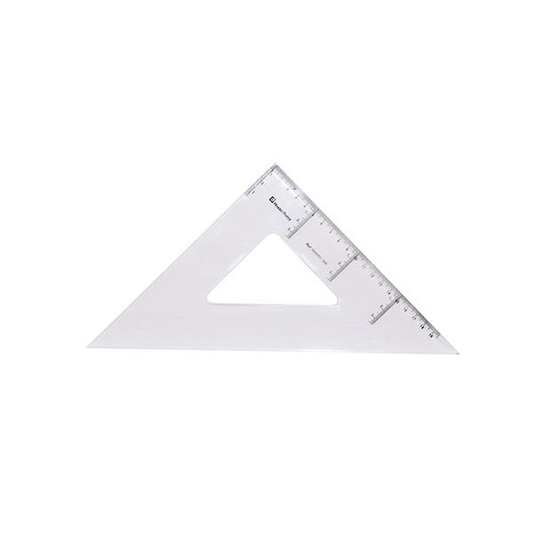 Escuadra Makro Paper de plástico 30cm.