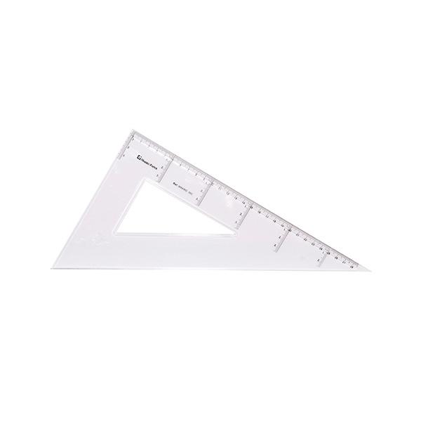 Cartabón Makro Paperv de plástico 30cm.