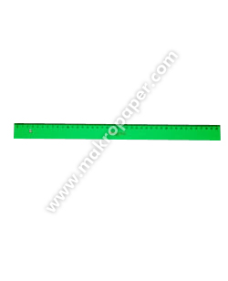 Regla Faber Castell Gama verde 40cm.