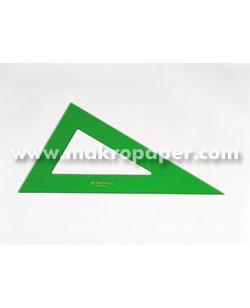 Cartabón Faber Castell Gama verde 28cm.