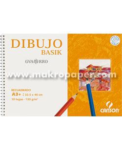 Papel dibujo Guarro gama basik Minipack 10h. A4