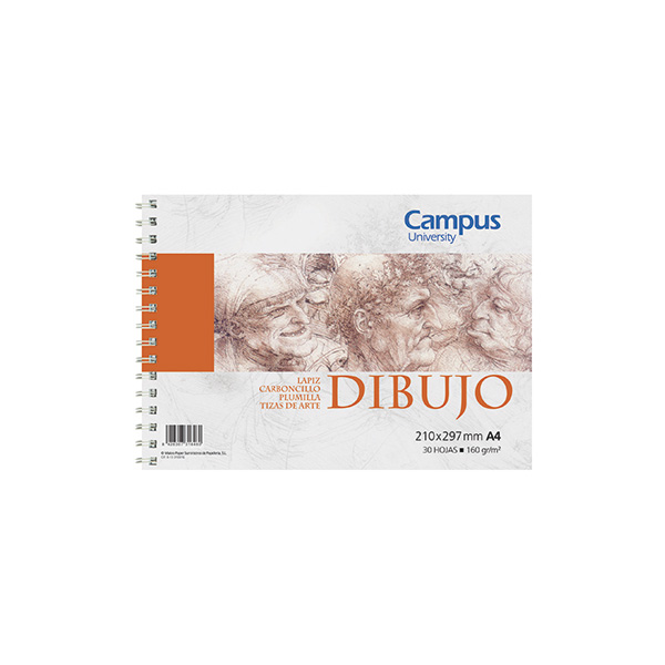 Bloc dibujo Campus University A4