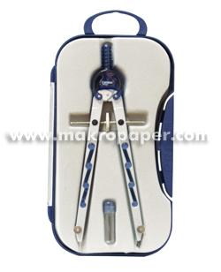 Compás Makro Paper BK-308 Micrométrico Azul