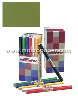 Papel adhesivo Unicolor mate. 45x20cm. Verde