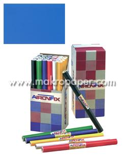 Papel adhesivo Unicolor mate. 45x20cm. Azul