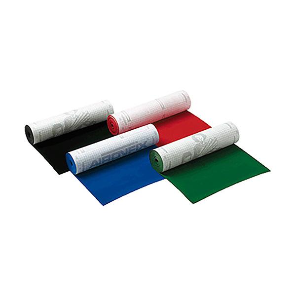 Papel adhesivo aterciopelado 45x10cm. Rojo