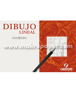 Papel dibujo Canson lineal A3 250h