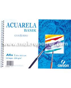 Papel acuarela Guarro Álbum espiral Minipack 6h. 29,7x42 (A3+)