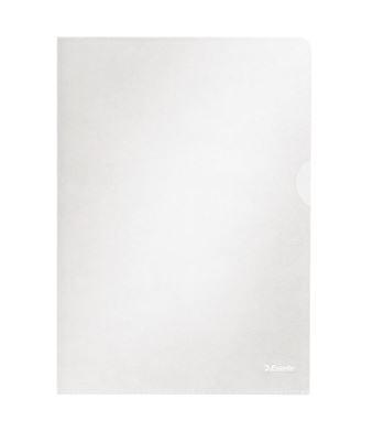 Caja 100 dosiers uñeros PP A4 transparente rugoso