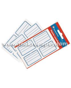 Etiquetas para libros Blanco (pack 20)