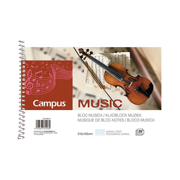 Bloc música Campus University pentagrama Cuarto