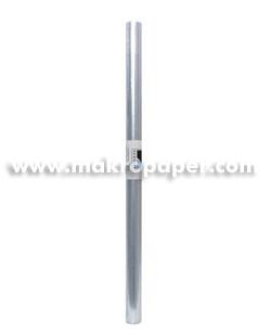FORRO PLASTICO 0,35 X 2 MTS CRISTAL