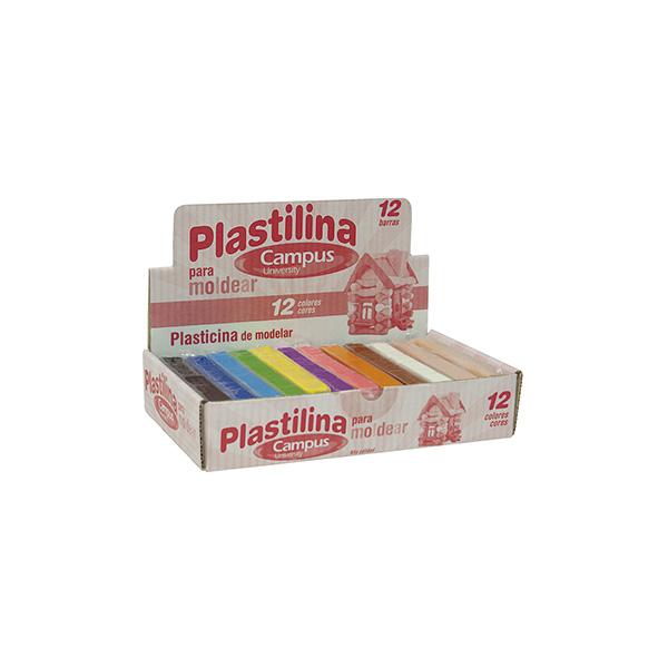 Plastilina Paper colores surtidos  (12 barras)
