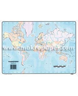 Mapas Mudos Makro Paper Europa Fisico