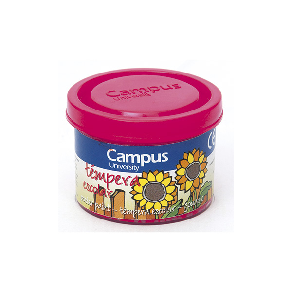 Témpera Campus University 5 botes 40gr. Magenta