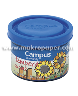 Témpera Campus University 5 botes 40gr. Azul ultramar