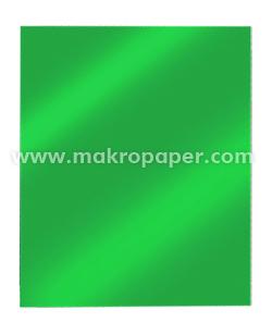 Cartulina metalizada 50x65 MakroPaper verde(10u)