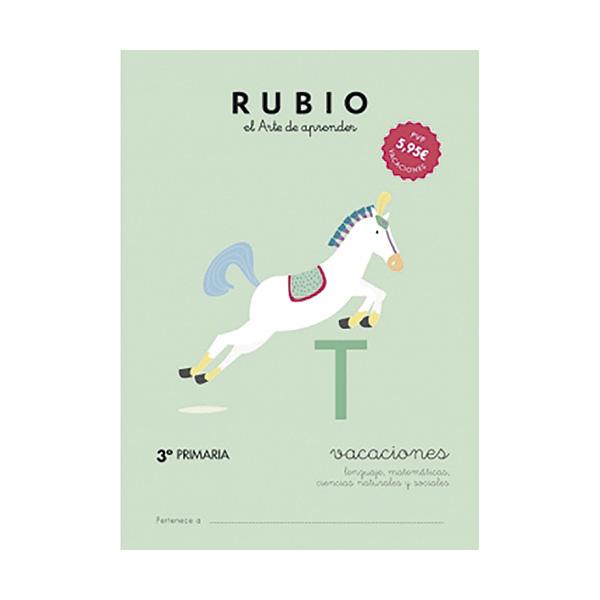 Cuaderno Rubio Vacaciones 3ºprimar/5u