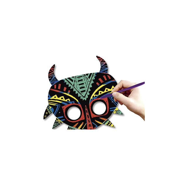 Dibujo mágico Campus máscaras