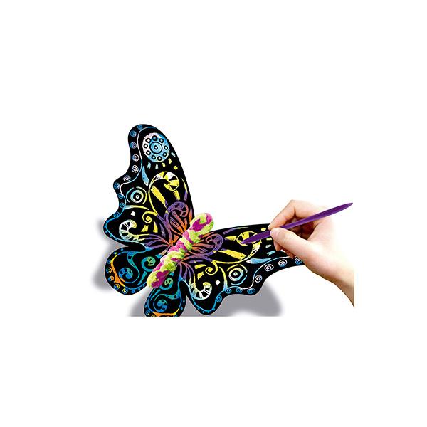 Dibujo mágico Campus mariposas