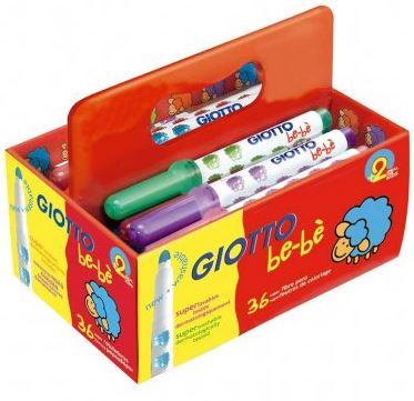 Rotuladores Giotto Be-Bé pack 36u