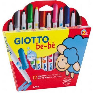 Rotuladores Giotto Be-Bè 12 colores