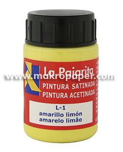 Pintura satinada La Pajarita Amarillo Limón