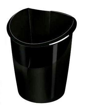 Papelera Cep 15L Ellypse negra