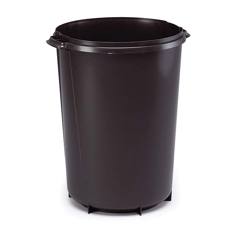 Contenedor circular negro 40litros