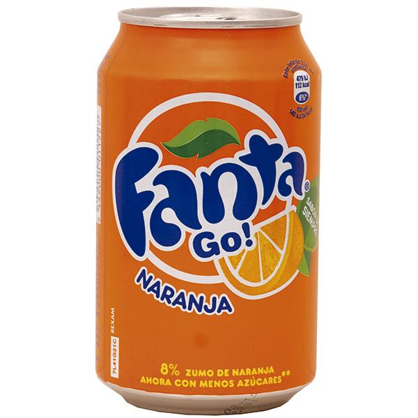 Fanta Naranja lata 33 cl