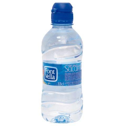 Agua Font-Vella botella 33 cl