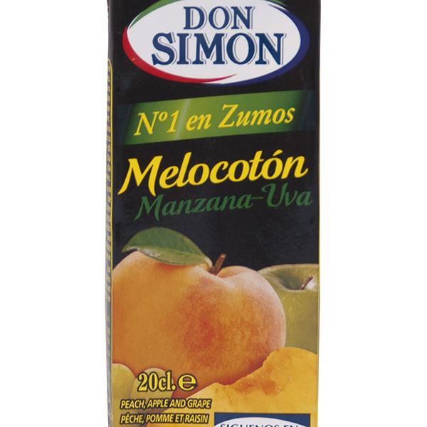 Zumo Don Simón melocotón 20 cl (pack 6u)