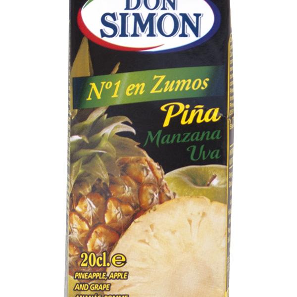Zumo Don Simón piña 20 cl (pack 6u)