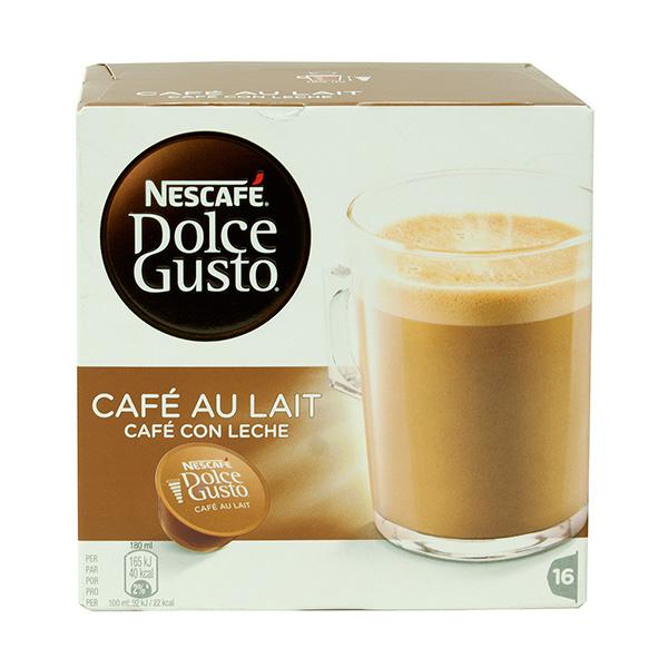 Cápsulas Café Dolce Gusto Café con leche