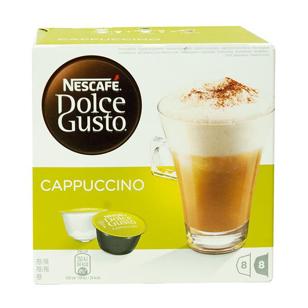 Cápsulas Café Dolce Gusto Capuchino