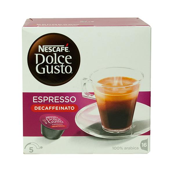 Cápsulas Café Dolce Gusto Descafeinado