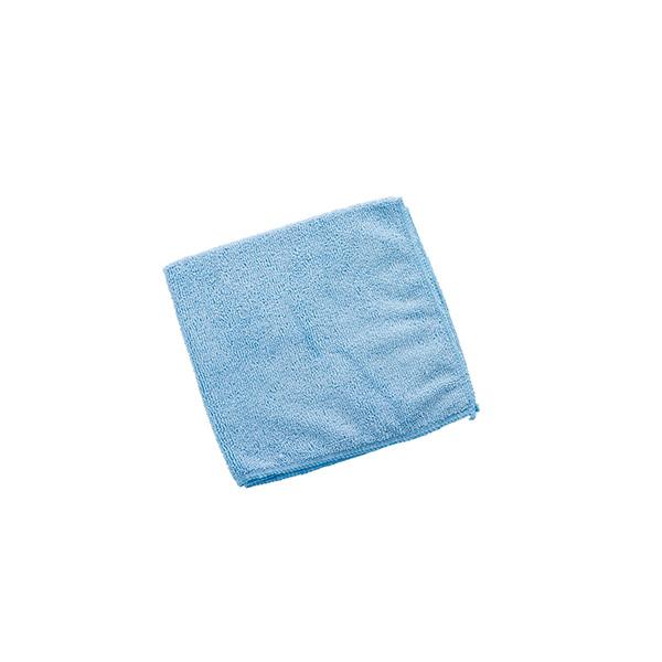 Balleta microfibra azul 40x40 cm