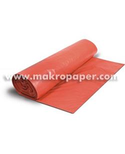 Bolsa de basura roja 54x60mm