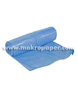 Bolsa de basura azul 54x60mm