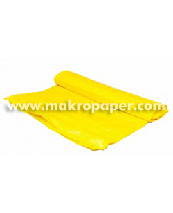 Bolsa de basura amarilla 54x60mm