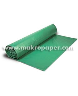 Bolsa de basura verde 54x60mm