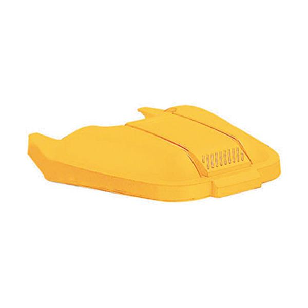 Tapa amarilla para contenedor Rubermaid 749272
