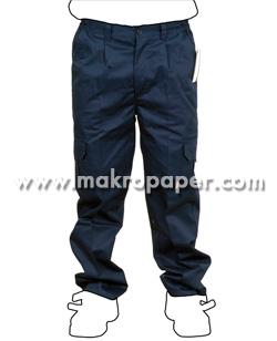 Pantalón de trabajo azul talla 42