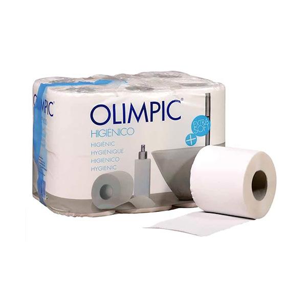 Paquete 12 rollos papel higienico 2 capas