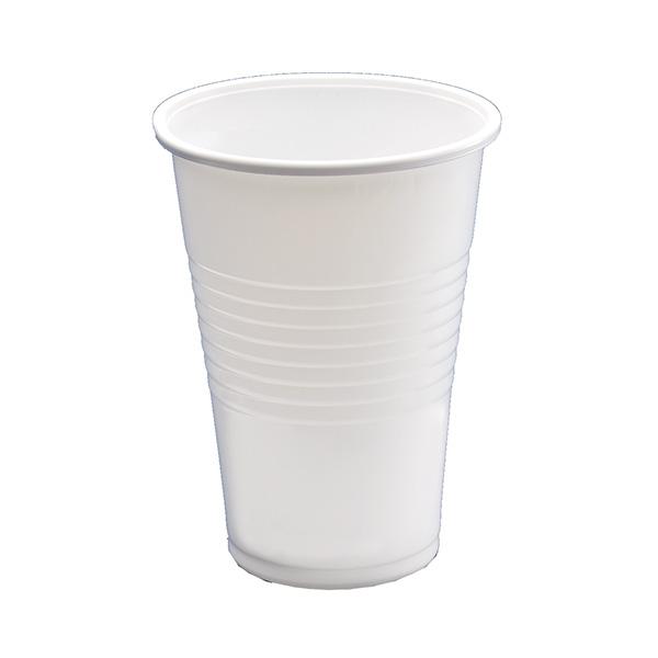 Paquete 100 vasos blancos 220 ml